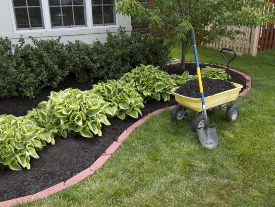 flower bed mulching beaverton or